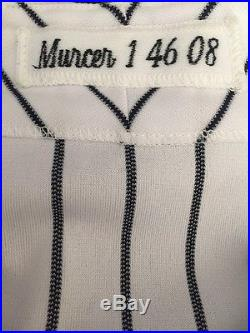 Bobby Murcer 2008 NY Yankees Old Timers Day Pinstripe Jersey Hung In His Honor