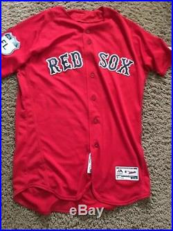 Boston Red Sox Team Issued Spring Training Jersey 2017 Craig Kimbrel