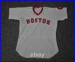 Boston Red Sox Vintage 1976 Game Used / Worn Road Jersey, Butch Hobson