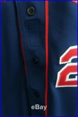 Brad Radke game used signed Minnesota Twins jersey MN autographed worn MN auto