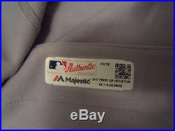 Brian McCann 2017 Houston Astros Game Used Issued Road TBTC 1999 Jersey MLB Auth