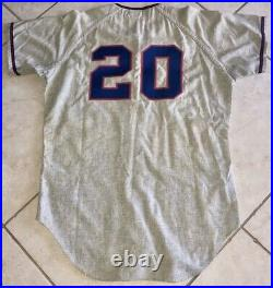 C. 1969 KANSAS CITY ROYALS #20 GAME-USED minor league BASEBALL UNIFORM