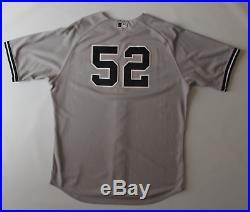 CC Sabathia game worn used New York Yankees jersey! RARE! MLB Authenticated