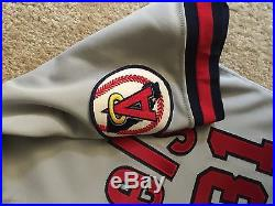 CHUCK FINLEY LOS ANGELES CALIFORNIA ANGELS JERSEY Mike Trout Size 40