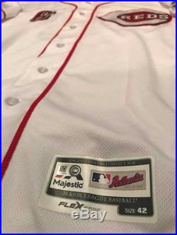 CINCINNATI REDS #6 Billy Hamilton GAME USED WORN JERSEY MLB authenticated