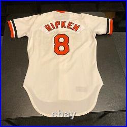 Cal Ripken Jr. 1981 Rookie MLB Debut Signed Game Used Jersey Mears 10 Ripken LOA