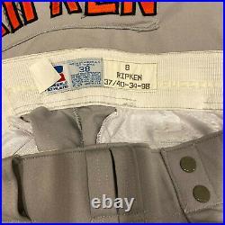 Cal Ripken Jr. 1998 Signed Game Used 1993 All Star Game Jersey & Pants JSA COA