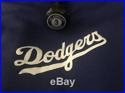 Carl Crawford Los Angeles Dodgers player/game used Bat/jersey MLB authenticated