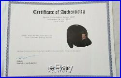 Carlos Beltran 2013 Cardinals Game-Used Batting Helmet, MLB & Heritage auth'd