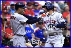 Carlos Correa Houston Astros Game Used Jersey 2017 Home Run