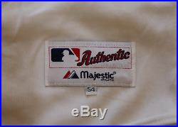 Carlos Delgado signed autographed game worn used 2002 Toronto Blue Jays jersey