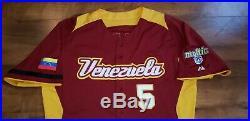 Carlos Gonzalez 2013 World Baseball Classic Game Used Autograph Jersey Mlb