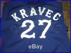 Chicago White Sox 1979 Game Used Jersey Ken Kravec P size 42