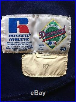 Chipper Jones 1997 Game Used Jersey Atlanta Braves