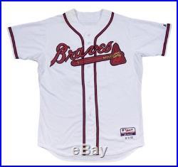 Chipper Jones Atlanta Braves Game Used Jersey Final Career RBI MLB Auth