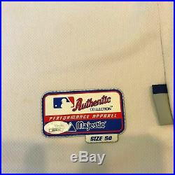 Clayton Kershaw Photo Matched Signed 2011 Game Used Dodgers Jersey JSA COA