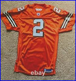 Cleveland Browns Tim Couch NFL Game Factory Issued Signed Reebok Jersey