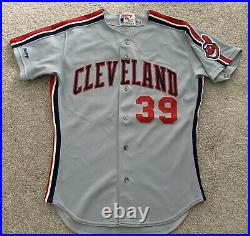Cleveland Indians Willie Blair 1991 Away Game Jersey