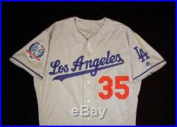 Cody Bellinger Los Angeles Dodgers Game Used 2018 Home Run Jersey MLB Authentic