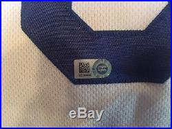 Corey Seager LA Dodgers Game Used Jersey Career HR #3 MLB authenticated