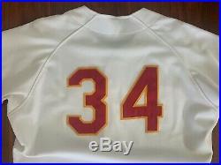 Curt Schilling Darryl Kile 90-92 Tucson Toros Game Used Worn Jersey Sz46 Astros
