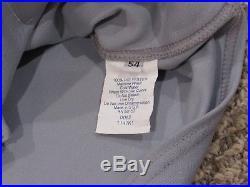 DEREK LOWE size 54 #23 2006 LOS ANGELES DODGERS ROAD GAME USED jersey BPH COA
