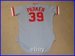 Dave Parker Game Worn Jersey 1987 Cincinnati Reds Pirates