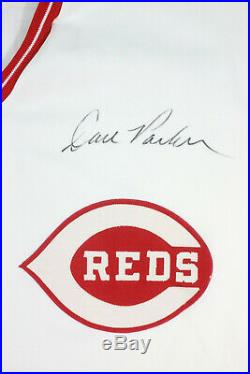 Dave The Cobra Parker Cincinnati Red Game Worn Jersey Pants Full Uniform Loa