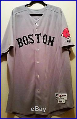 David Ortiz 2011 Game Worn Used Boston Red Sox Jersey
