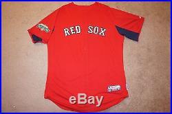 David Ortiz Boston Red Sox Game Used Worn Baseball Jersey, Fenway 100, MLB Auth