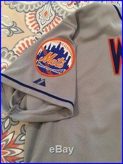 David Wright Game Used Jersey New York Mets Postseason MLB Dodgers Baseball
