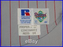 Deion Sanders Game Worn Jersey 1994 Cincinnati Reds NFL HOF