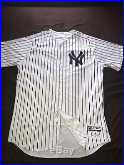 Dellin Betances New York Yankees Game Used Jersey