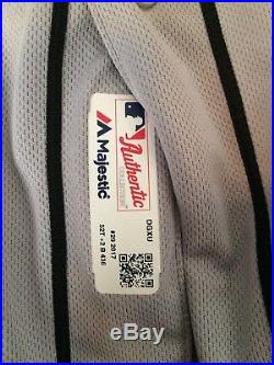 Detroit Tigers Game Used Jersey