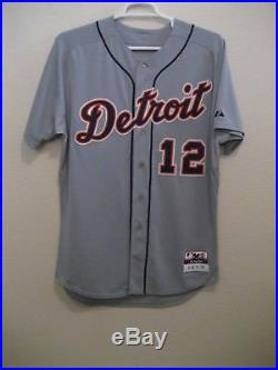 Detroit Tigers game used jersey size 46, Majestic