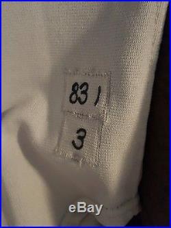 Detroit Tigers game worn game used Alan Trammell away jersey 1983