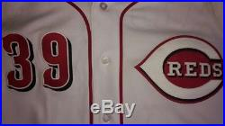 Devin Mesoraco 2016 Cincinnati Reds Game Issued Home Jersey MLB AUTHENTICATED