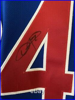 Dexter Fowler Game Used Chicago Cubs 2015 Autographed