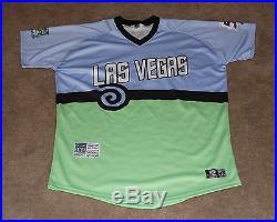 Dice-K Daisuke Matsuzaka Game Worn Autographed Signed Jersey Las Vegas 51's METS