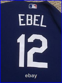 EBEL size 44 2020 Los Angeles Dodgers game used jersey ALL STAR PATCH SPRING MLB