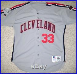 Eddie Murray Pre-season Game Used 1994 Cleveland Indians Jersey Hof