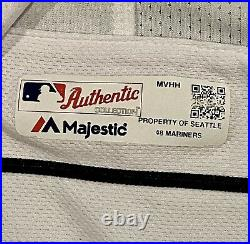 Edgar Martinez 3/29/19 Game Issued Seattle Mariners Jersey MLB Certified