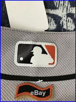 Eduardo Nunez Game Used Jersey. MLB Authenticated! Used On 9/23/16 Vs SD