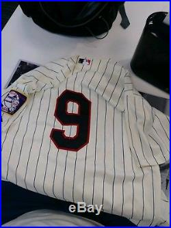 Eduardo Nunez Game Used mn twins Jersey 2015 MLB Authenticated