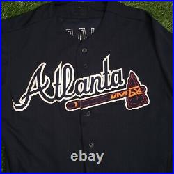 Ender Inciarte Atlanta Braves Game Used Worn Jersey 2016 MLB Authenticated