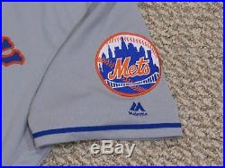 FAMILIA size 50 #42 JACKIE ROBINSON DAY 2017 New York Mets game jersey MLB HOLO