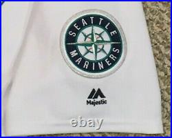 FELIX HERNANDEZ #34 size 48 2017 Seattle Mariners game used jersey issue 40 MLB