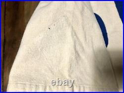 FRANK HILLER home CHICAGO CUBS GAME WORN JERSEY flannel used vtg 1951