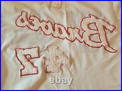 Felix Millan 1972 Game Used Worn Atlanta Braves Jersey GOLD GLOVE all tags