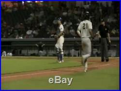 Fernando Tatis Jr 2017 Game Used AA Jersey San Antonio Missions San Diego Padres